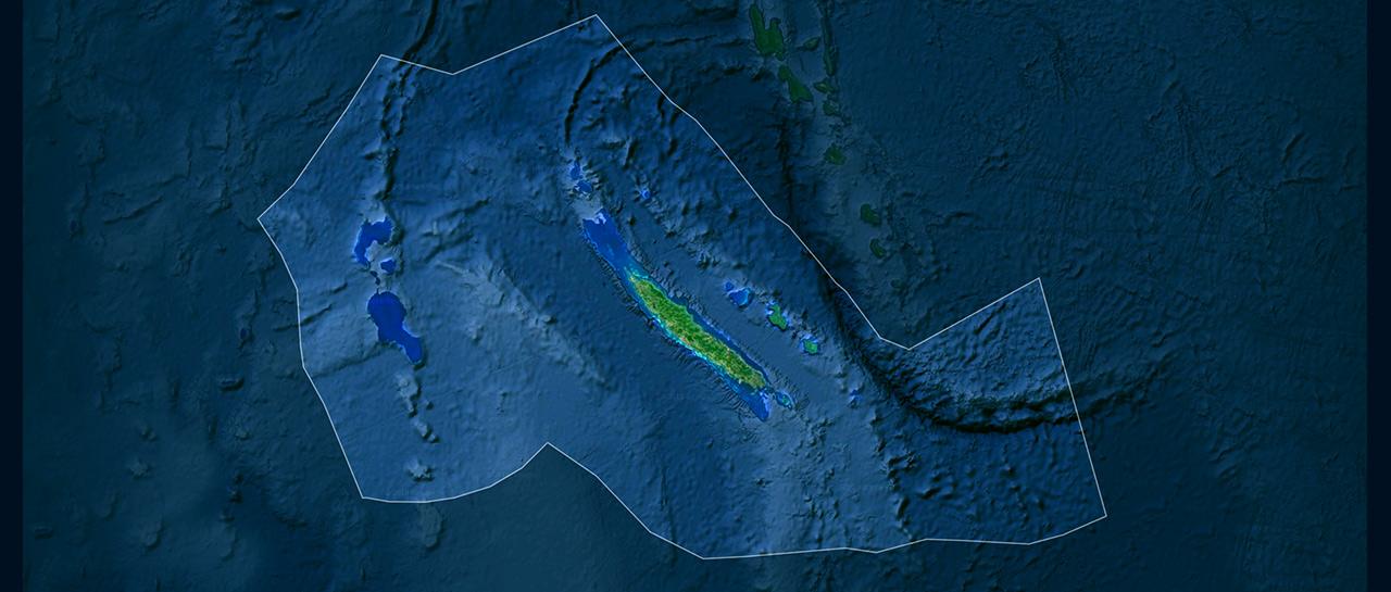 La Zone économique Exclusive (ZEE) de la Nouvelle-Calédonie